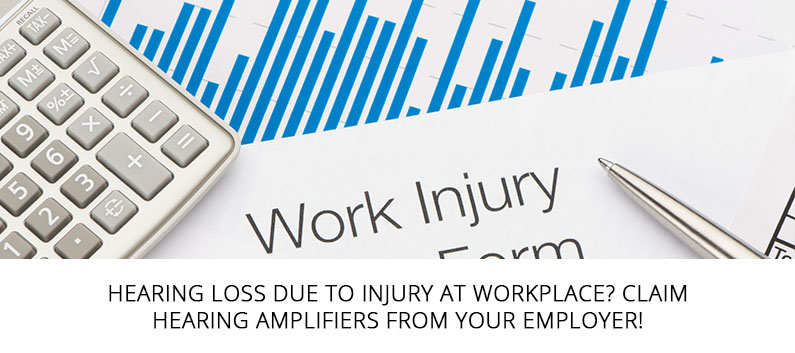 Claim Hearing Amplifiers from your Employer